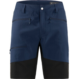 Haglöfs Rugged Flex korte broek Heren, tarn blue/true black